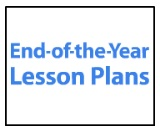 end of year lesson plan graphic