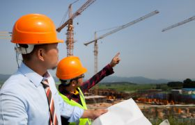 Engineering Management - integrated/unified - construction workers