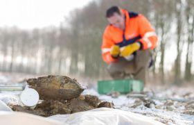 Geological engineering soil samples